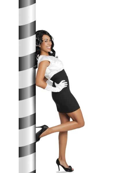 Satinhandschuhe - Eleganz für die Mottoparty