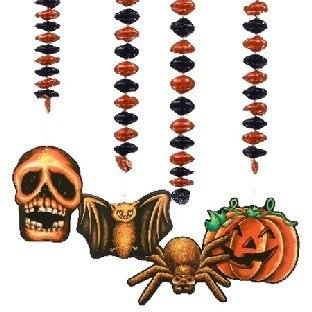 Spiralhänger Halloween-Horror