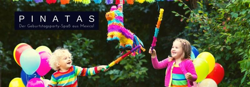 Pinatas - Geburtstagspartyspass aus Mexiko