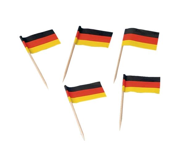 Flaggenpicker Deutschland, 200 Stück