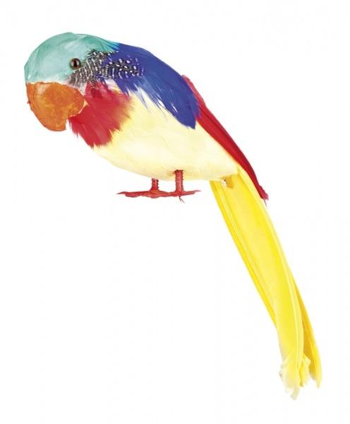 Deko-Papagei, 30 cm groß
