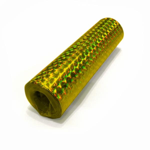 Glitzer-Luftschlangen, holographisch, gold - Glamour Deko