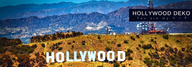 Hollywood You Are My VIP Mottoparty Deko