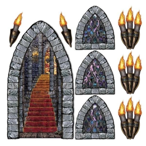 Dekofolie Treppe zur Hölle, 9-teilig