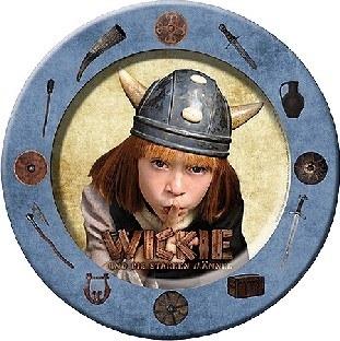 Pappteller Wikinger - Kinderparty Tischdeko