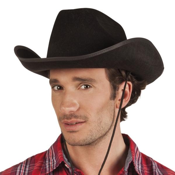 Cowboyhut Sacramento, schwarz
