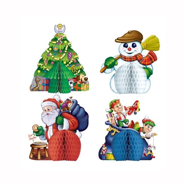 Mini Tischdekoset Weihnachtszeit - Weihnachtsdeko