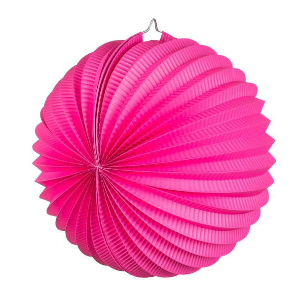 Party-Extra Lampion, pink,