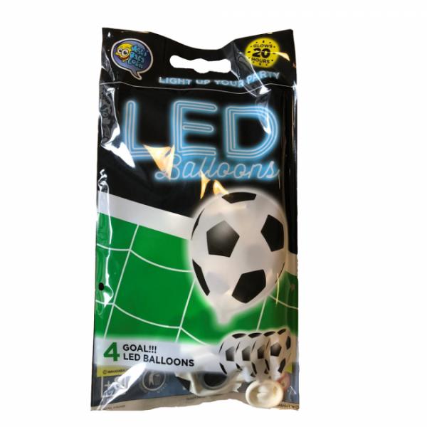 LED-Leuchtballons Fussballparty - Soccer Deko