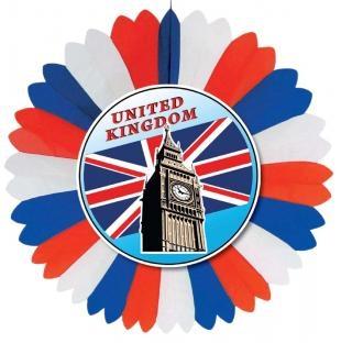 Dekofächer United Kingdom, 60 cm Durchmesser