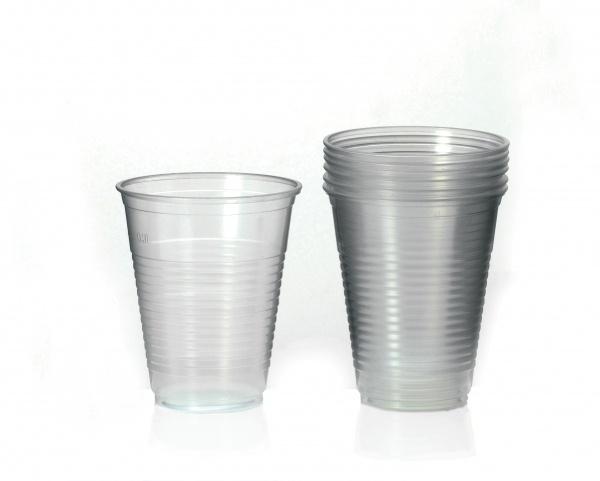 Plastik-Schnapsgläser, 20er Pack 0,02 l