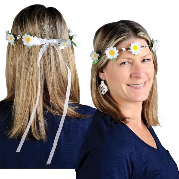 Party-Extra Gänseblümchen-Stirnband, verstellbar
