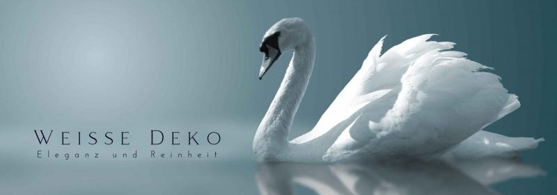 Weiße Deko - Elegante Deko fuer Ihre Party