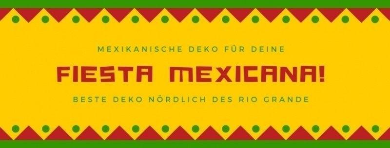 Party-Extra Mexikanische Deko für Deine Fiesta Mexicana