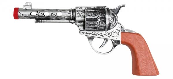 Pistole Revolverheld - Westernparty Deko