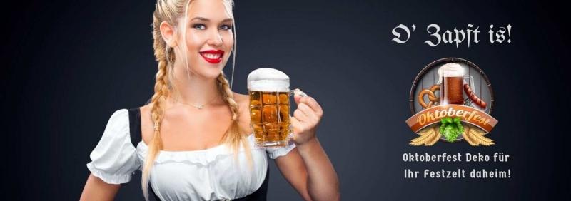 Oktoberfest 2020 Deko fuer Dein Festzelt daheim - Bayernparty