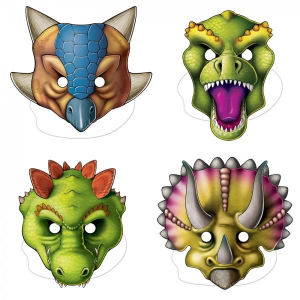 Dinosaurier Masken, 29cm