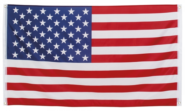 US-Fahne Star Spangled Banner - Stars + Stripes - Amerika Deko