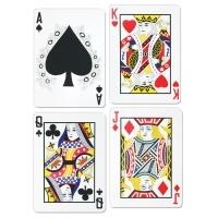 Cutout-Set Spielkarten, 4er Set, je 44cm groß