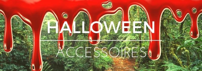 Party-Extra Halloween Accessoires, blutige Deko