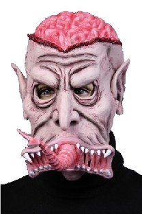 Latexmaske Monstermaul - Halloween Accessoire
