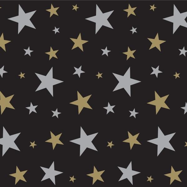 Parrty-Extra Dekofolie Glamour Stars