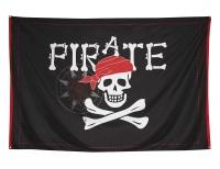 XXL-Piratenbanner Jolly Roger, 200 x 300 cm groß