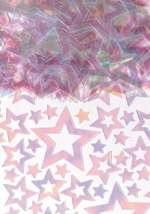 Party-Extra XL Packung Tischkonfetti Perlmutt-Sterne, 70g