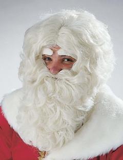Augenbrauen Freundlicher Weihnachtsmann