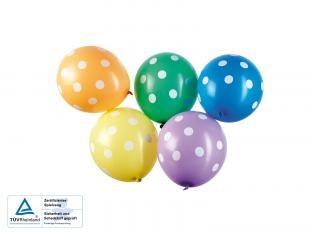 Luftballons Picknick im Grünen, 5er Pack