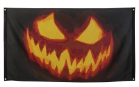 Dekofahne Spooky Pumpkin, 90 x 150 cm