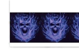 Plastik-Tischdecke Phantom der Nacht, 137x274cm