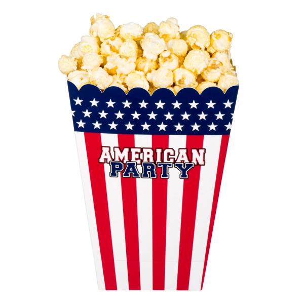 Popcorn-Schuessel USA - Amerika Deko