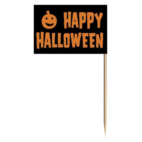 Party-Extra Flaggenpicker Happy Halloween