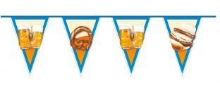 Wimpelkette Bierparty - Oktoberfest Deko