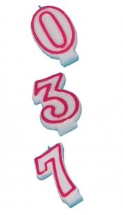 Geburtstags-Kerze (0-9)