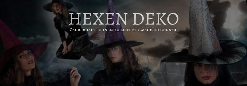 Party-Extra Hexen Deko, zauberhaft gut