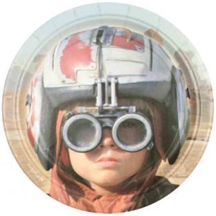 Pappteller Star Wars - Weltraum Tischdeko