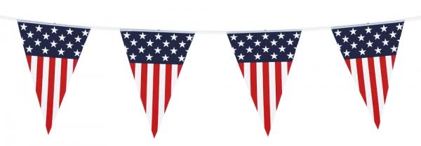 Wimpelkette Sternenbanner - Amerika Deko USA
