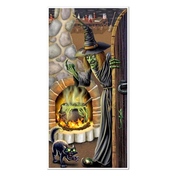 Tür-Dekofolie Hexenstube, 150x75cm