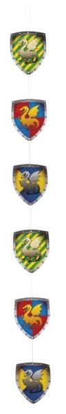 Dekohänger Ritterwappen - Mittelalter Deko