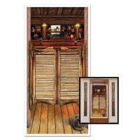 Tür-Dekofolie Western Saloon