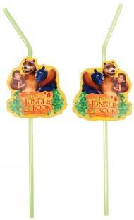 Trinkhalme The Jungle Book, 8er Pack