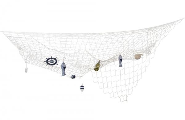 Deko-Fischernetz, 3 x 3 Meter