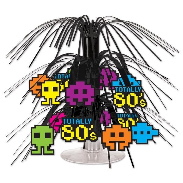 Party-Extra Mini-Tischkaskade 8-Bit 80er Jahre Mottoparty