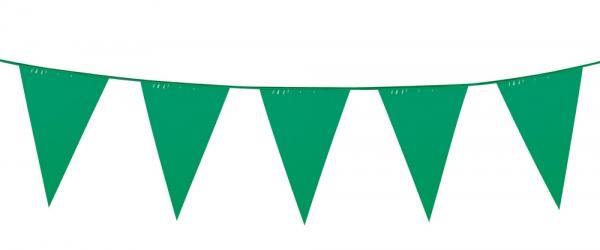 Mini-Wimpelkette Grün
