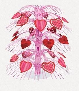 Große Tischkaskade Herzschmerz, 45cm hoch