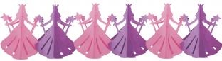 Girlande Prinzessin - Mädchenparty Deko