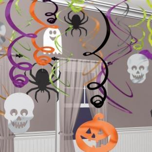 Maxi-Pack Dekohänger Halloween-Gruselspaß