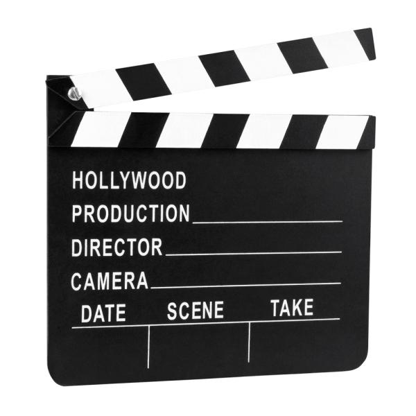 Deko-Regieklappe Hollywood - Filmstar Deko
